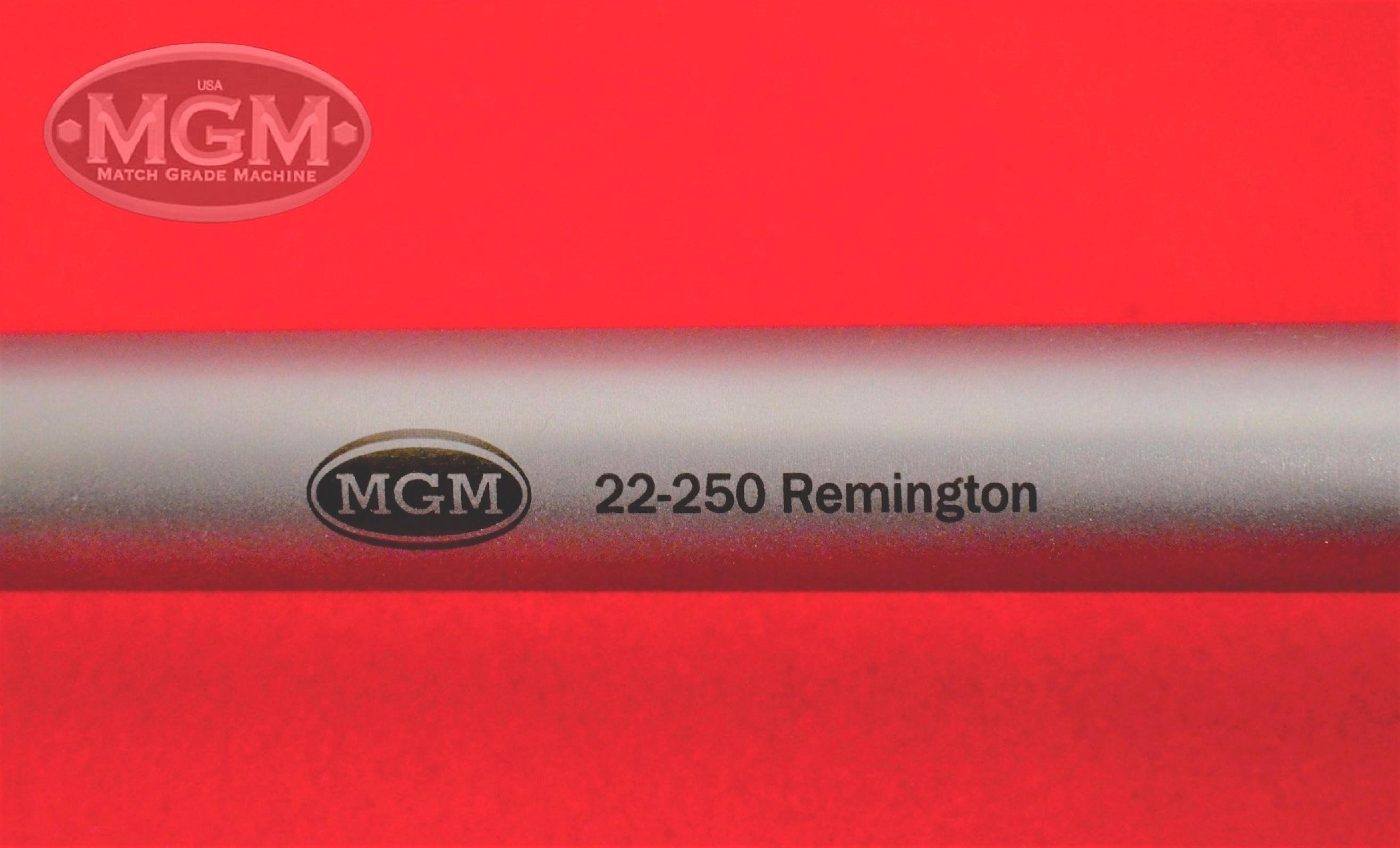 22-250, Stainless, Match Grade Machine, MGM, Thompson Center, Encore