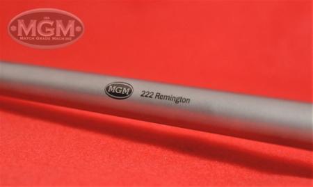 Remingtong, 222, Encore, Match Grade Machine, MGM, Barrels, Rifle, Stainless