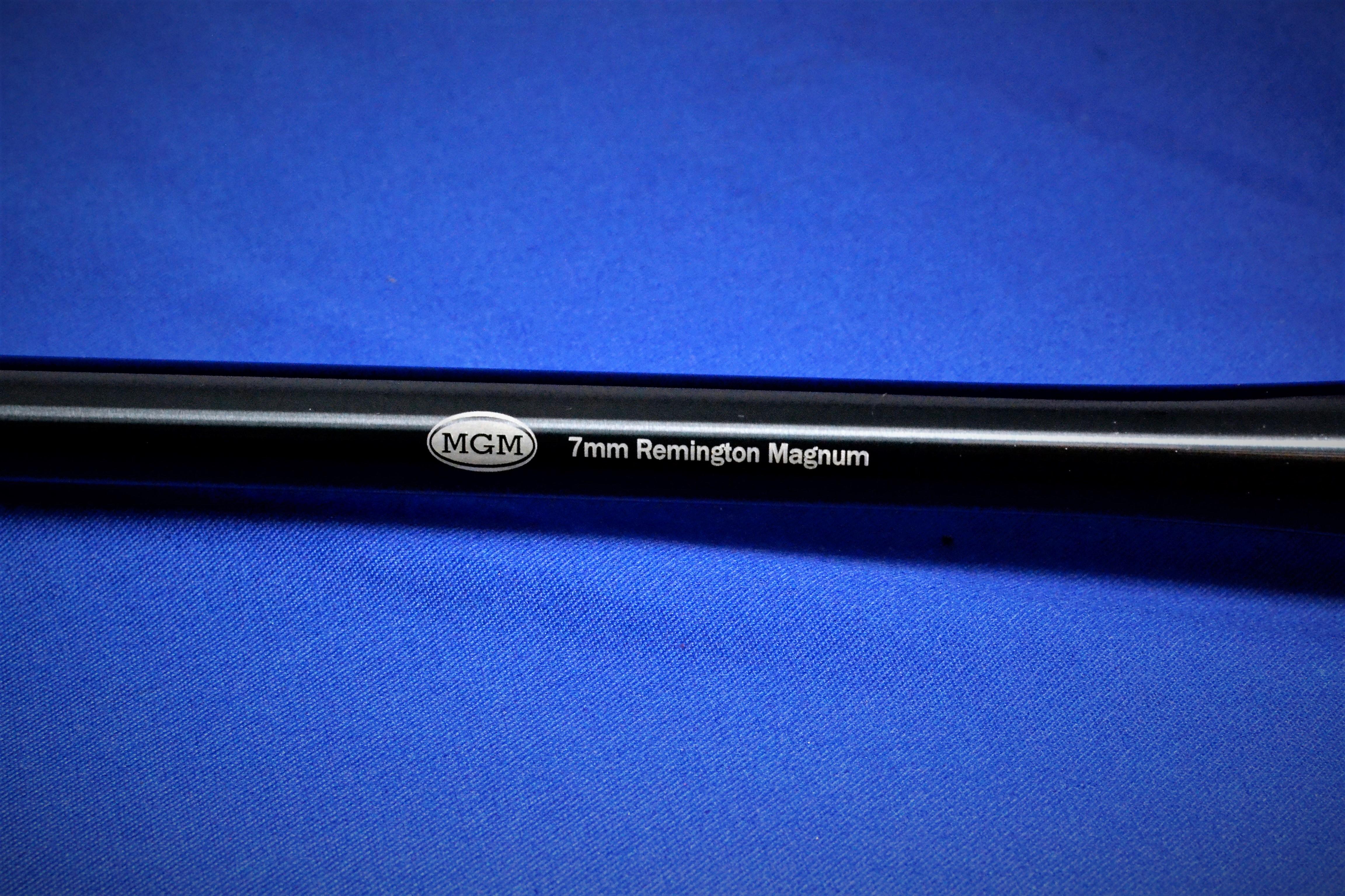 Encore Rifle Barrel 7MM Remington Magnum Chrome Moly Blued 26 1 9 Twist Heavy Factory Contour