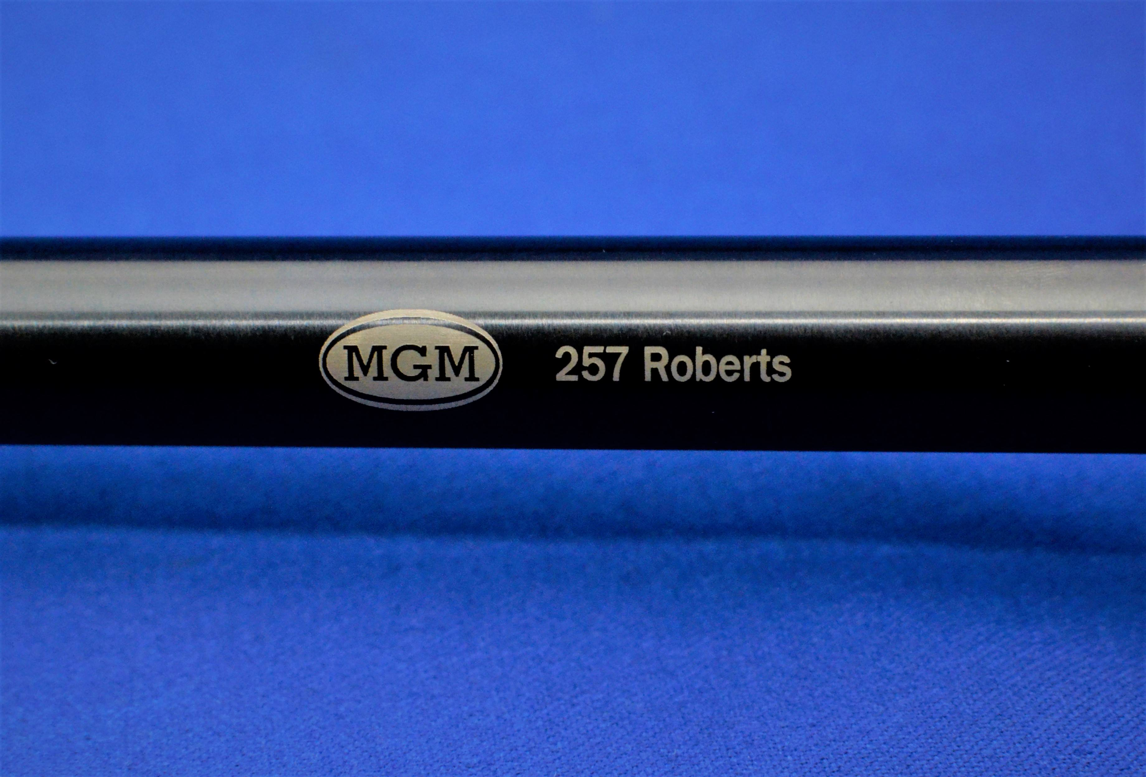 Thompson Center Encore, Match Grade Machine, MGM, Barrels, Rifles, Pistols, 257 Roberts, Chrome Moly Blued