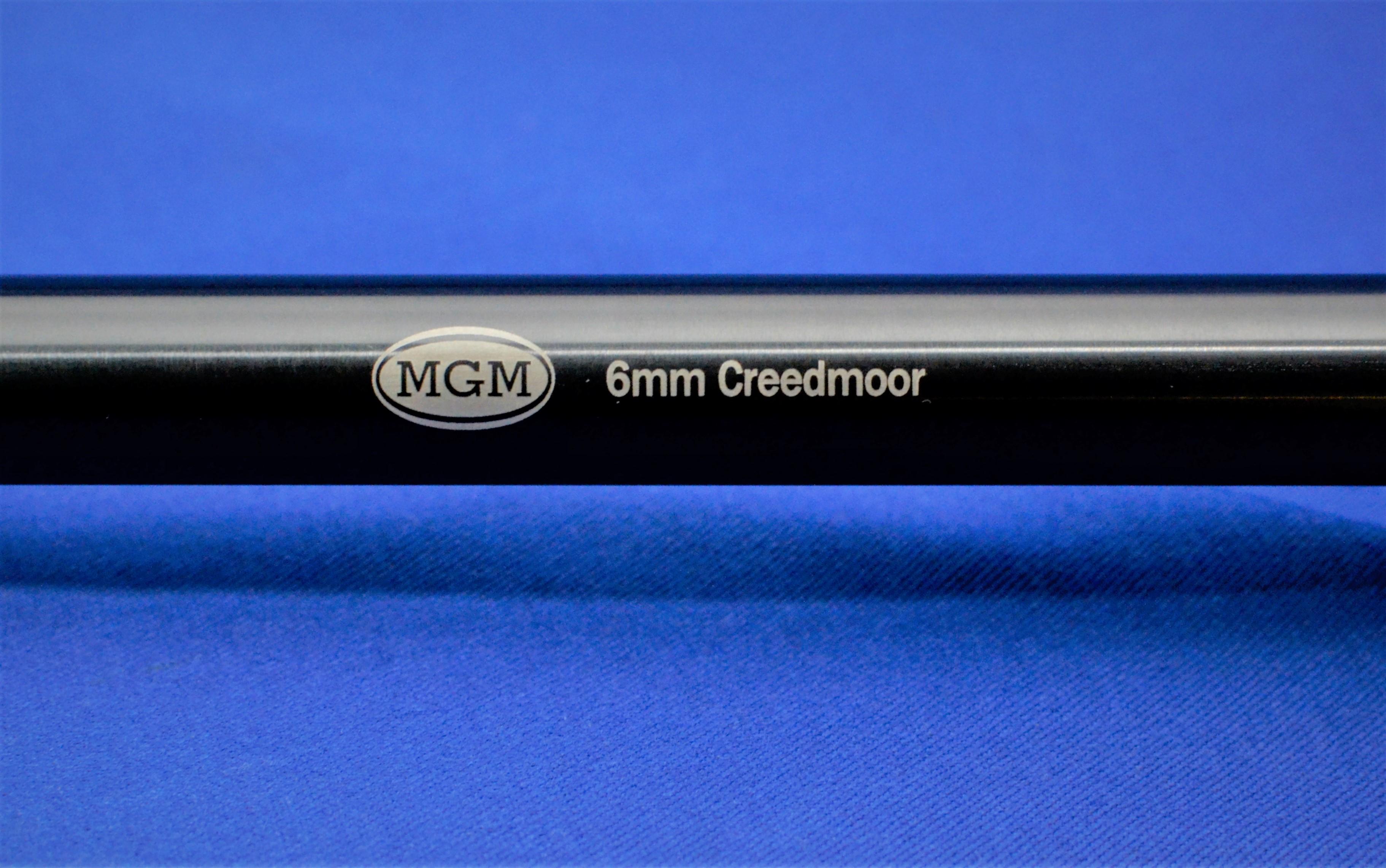 Thompson Center Encore, Match Grade Machine, MGM, Barrels, Rifles, Pistols, 6mm Creedmoor, Chrome Moly Blued