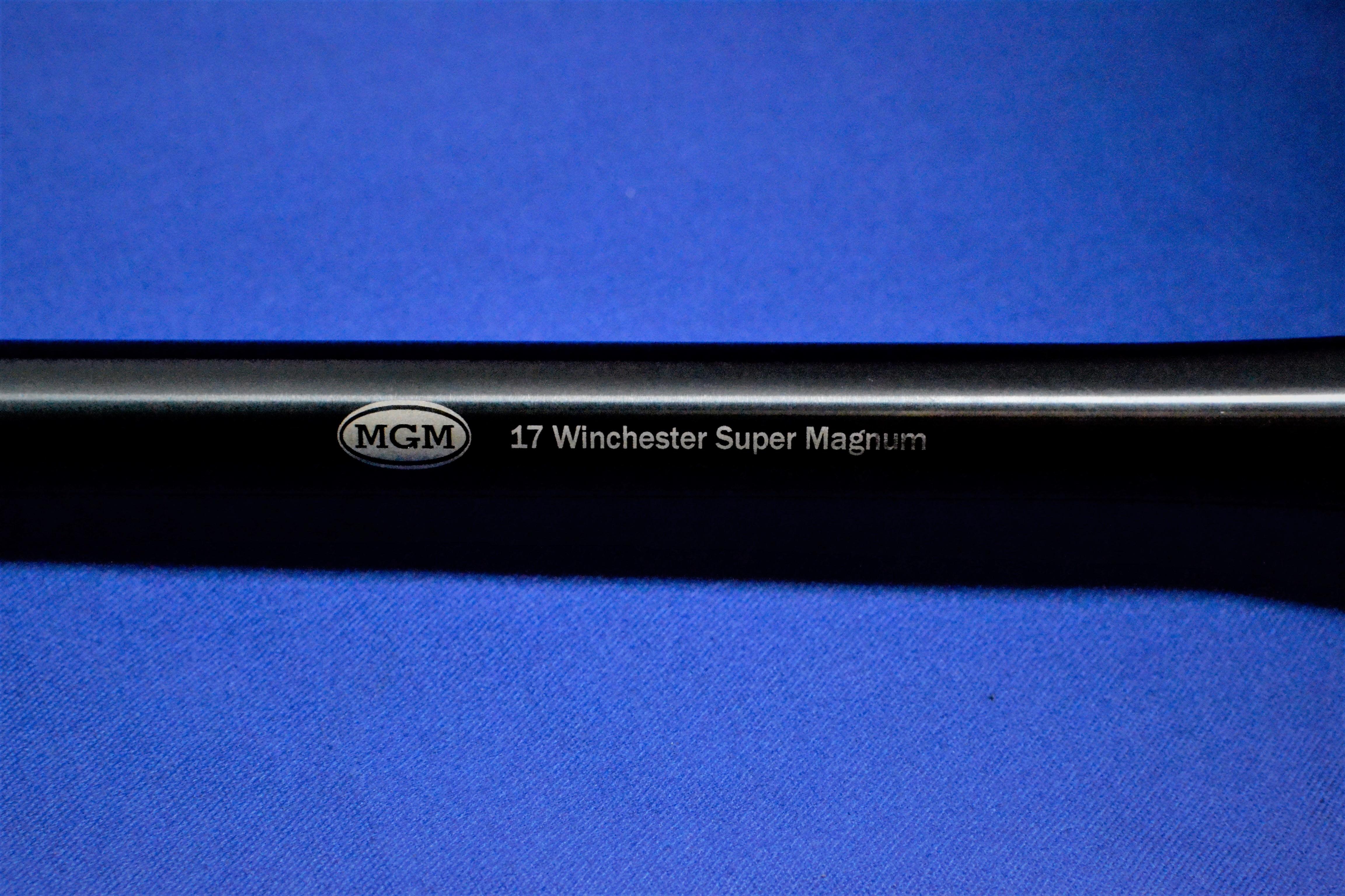 Match Grade Machine | Thompsons Center | Encore | 17 WSM
