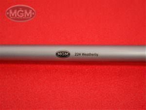 224Weatherby, Thompson Center, Match Grade Machine, MGM, Barrels, Encore, Stainless Stee