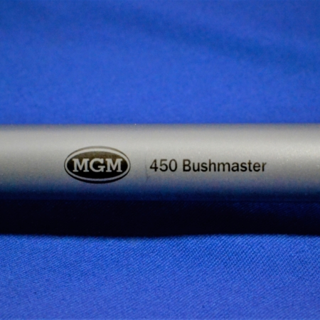450 Bushmaster, Thompson Center, Encore, Match Grade Machine, MGM, Barrels, Guns, Stainless Steel