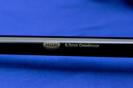 6.5 Creedmoor, Encore, Thompson Center, Match Grade Machine, MGM, Barrels, Chrome Moly Blued, Guns
