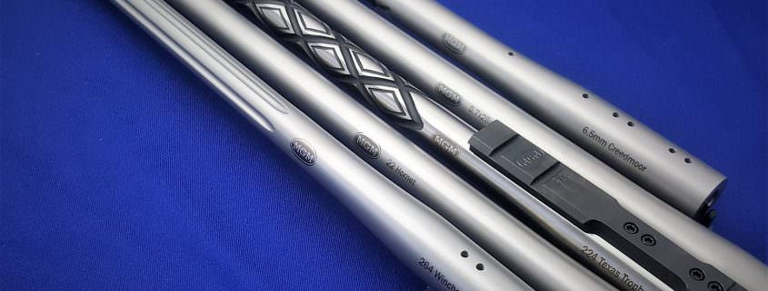 Encore Stainless Steel Rifle Barrels by Match Grade Machine