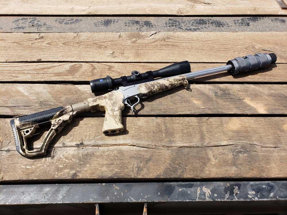 Suppressed Short Rifle Barrel Thompson Center | Suppressed
