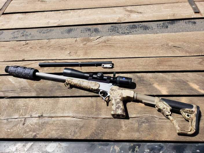 suppressed short barrel rifle
