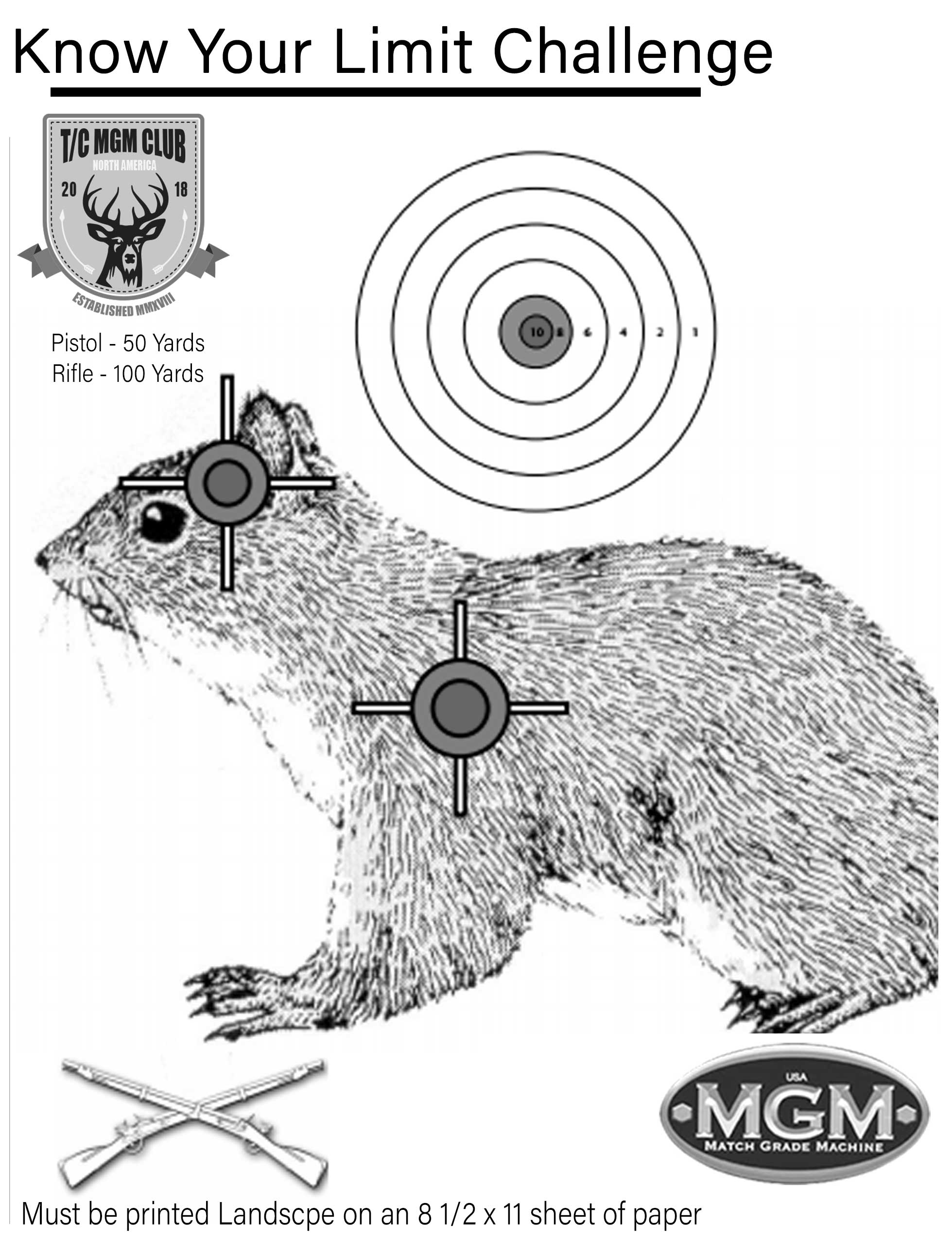 image regarding Squirrel Target Printable identify Realize Your Reduce - August 2018 Regular T/C MGM Club Issue